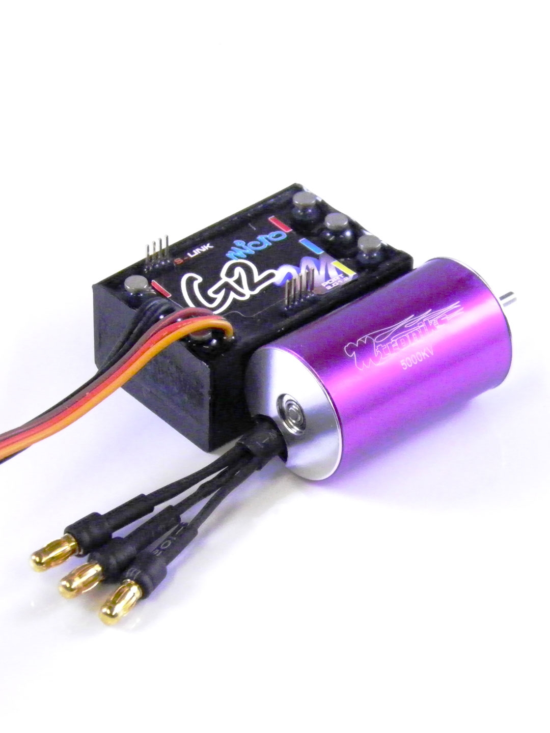 5000kv 370 Sensorless Brushless 1 16 1 18 Rc Car Speed