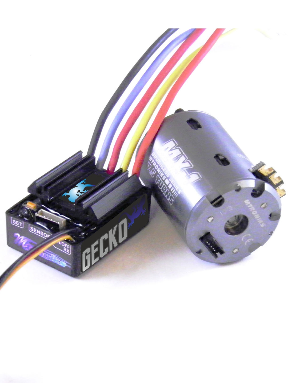 Gecko 13 5t 540 Sensored Brushless 1 10 Scale Rock Crawler