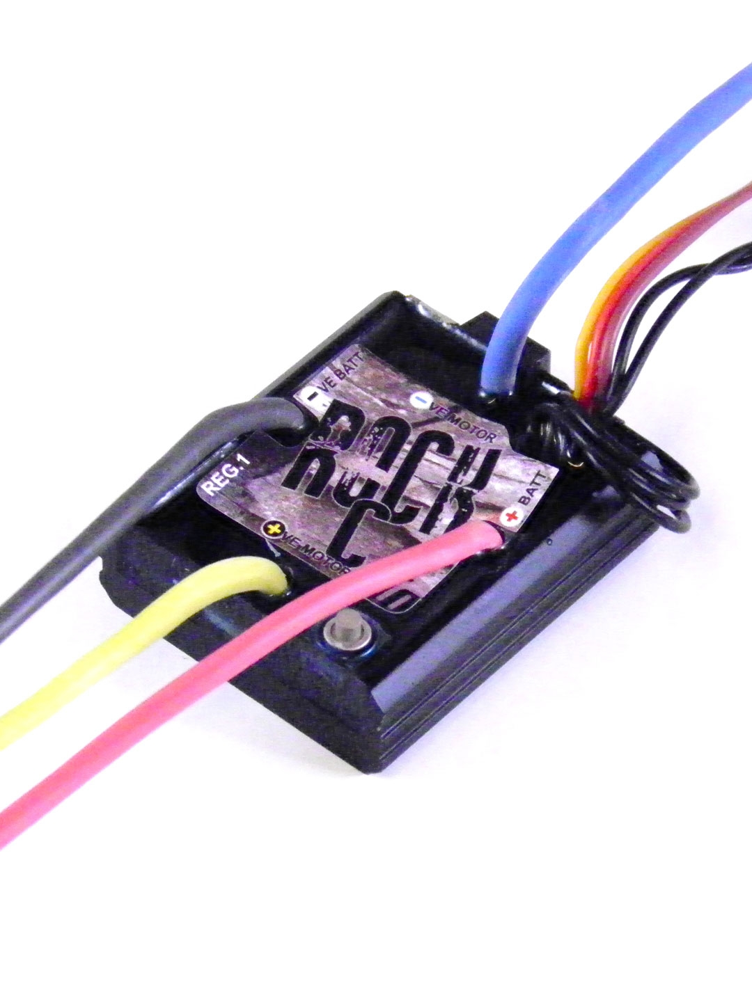 35t Brushed Rc Crawler Speed Controller Simple Motor Control Two Different Voltages Electronics Rockc