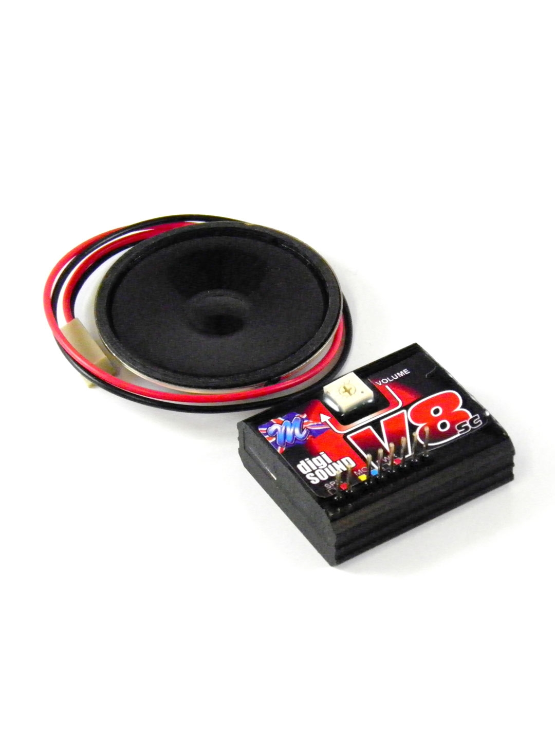 v8 straigh cut with gears sound module for rc cars. Black Bedroom Furniture Sets. Home Design Ideas